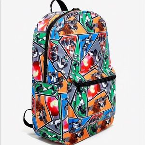 VOLTRON: LEGENDARY DEFENDER CHARACTER BACKPACK NWT